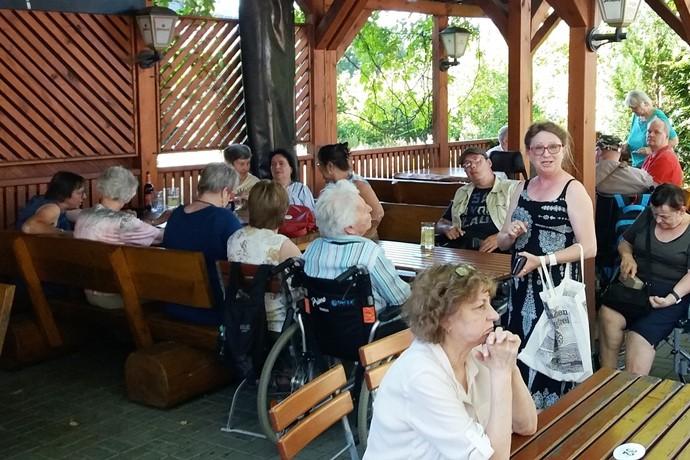 Die Selbsthilfegruppen Schlaganfall im Vogtland im Sommer